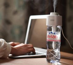 A $34 Cap That Turns Any Water Bottle Into A Humidifier. WOW! I never knew!