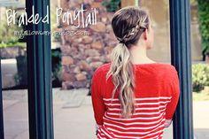 25 Totally Pretty Ponytail Tutorials | Family Style