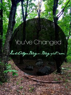 #NEWPOST You've Changed  Today we talk about  when friends/family  don't get why you've  changed and the growing pains the transition of exchanging your will for Gods will.    #ChristianBlogger #Devotional #Blogspot #lesliallynblogs #advice #commentbelow #pleaseshare        #repin