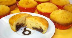 Muffin nutellával :: Ami a konyhámból kikerülNutella Muffins Muffins, Cupcakes, Cornbread, Nutella, Sweets, Cooking, Breakfast, Ethnic Recipes, Food