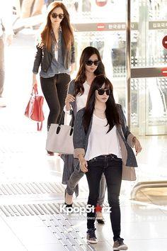 Girls Generation(SNSD) Leaving for Haneda, Japan - Oct 6, 2013