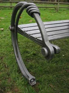 Photo: Wonderful bench detail by William Catcheside.