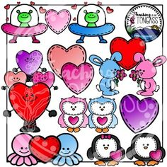 Valentine's Day Love Clipart Bundle