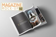 Best Magazine Mock-Up V2 CreativeWork247 - Fonts, Graphics, Themes, Templat...