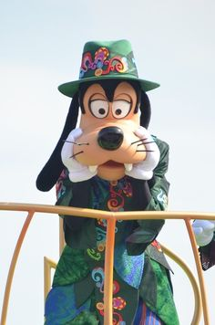 Goofy is thinking of me!