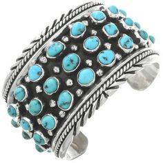 "Thanks for the kind words! ""This bracelet is Absolutely beautiful!"" Thanks for the kind words! ""This bracelet is Absolutely beautiful! Beaded Wrap Bracelets, Bohemian Bracelets, Turquoise Gemstone, Turquoise Bracelet, Jewelry Gifts, Fine Jewelry, Jewelery, Silver Cuff, Bracelet Sizes"