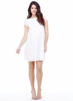 e2b39db718 Ingrid   Isabel Women s Maternity Lace Swing Dress