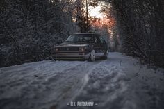 Golf Mk.2 in the snow. Picture by M.K. Photography. https://www.facebook.com/m.k.photography.mkp/
