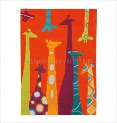 Tapis Les Girafes