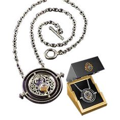 Harry Potter Collectible Sterling Silver Time-Turner by Noble: WBshop.com - The Official Online Store of Warner Bros. Studios