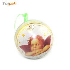 This gift tin ball is in Dia85MM. It looks great and feels great.