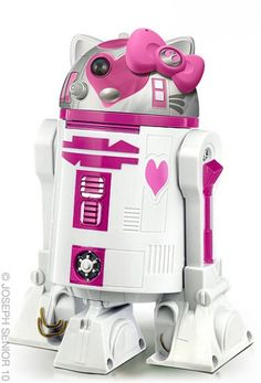 OMG, I'm in love!!  Almost as good as the Hello Kitty Darth Vader!  :)