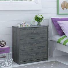 Mainstays 3-Drawer Dresser - Walmart.com