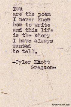 tylerknott: Typewriter Series #344 by Tyler...