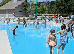 Beating the Heat in #Atlanta | Splash Pads, Spraygrounds and Indoor Pools-I can't tell you how glad I am to see this!!!