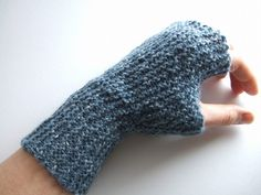 Garter mitts on Ravelry,  by ysolda teague, via Flickr