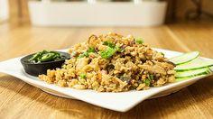 Gebratener Reis, ein sehr schönes Rezept aus der Kategorie Braten. Bewertungen: 44. Durchschnitt: Ø 4,5.