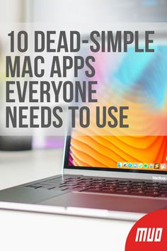 10 Dead-Simple Mac Apps Everyone Needs to Use --- macOS has a variety of dead-simple, single-purpose apps. These apps do just one or a few tasks, but handle them well. Anyone who gets work done on a Mac can benefit immensely by using these utilities. Apple Laptop Macbook, Best Macbook, Macbook Skin, Apps For Macbook Pro, Macbook Air Stickers, Apple Mac Computer, Apple Computers, Computer Tips, Mac Keyboard Shortcuts