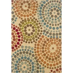 You won't forget to dot your i's with this rug in your home! #Target #home