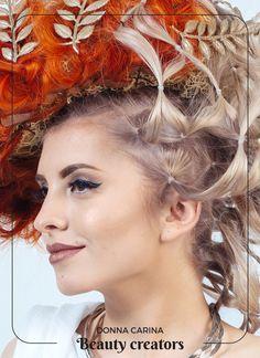 Idei de coafuri si machiaj pentru evenimente speciale #beautycreators #donnacarina Crown, Fashion, Moda, Corona, Fashion Styles, Fashion Illustrations, Crowns, Crown Royal Bags