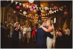 rustic barn wedding // bunting // lillibrooke manor wedding