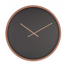 Zwarte klok koper Clock Wall, Diy Clock, Exterior Design, Interior And Exterior, Weird Inventions, Creative Walls, Oclock, Copper, Room Decor