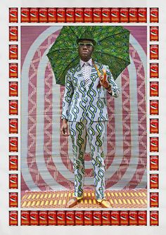The exhibition African Print Fashion Now!, opening this Saturday, chronicles the history of African textiles, beginning with their 19th-century origins in West and Central Africa.