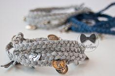 Braided Wrap bracelet #SoliloquiBijoux  La raccolta di Silvia: I braccialetti per l'estate: Treccina