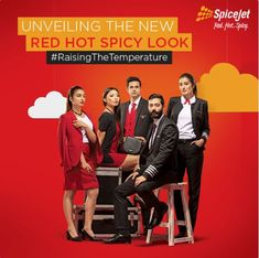 SpiceJet cabin crew and ground staff get new uniform courtesy Nimish Shah; 5 best airline uniforms