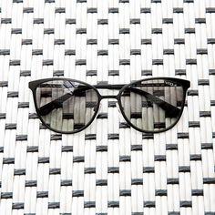 93c80d9797f Monochromatic perfection in Vogue Eyewear Light and Shine sunglasses.
