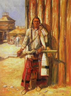 Buffalo Coat Indians Charles Marion Russell Indiana art for sale at Toperfect gallery. Buy the Buffalo Coat Indians Charles Marion Russell Indiana oil painting in Factory Price. All Paintings are Satisfaction Guaranteed Frederic Remington, Helena Montana, American Indian Art, Native American Indians, Charles Marion Russell, Westerns, Illustrator, Cowboy Art, Le Far West