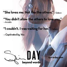 Thinking back to my sneak peek for #CaptivatedByYou… #TBT