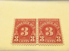 NICE BOBS-1931 #J86 3 CENT DOCUMENTARY  HORIZONTAL PR , MINT, OG , FINE