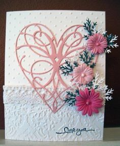 Delicate Valentine by incindiary - Cards and Paper Crafts at Splitcoaststampers