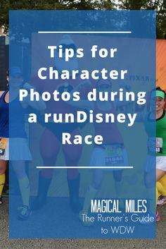 Tips for Character Photos during a runDisney Race