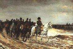1814, Campagne de France - par Jean-Louis-Ernest MEISSONIER 1864 (Musée d'Orsay) ✏✏✏✏✏✏✏✏✏✏✏✏✏✏✏✏ IDEE CADEAU / CUTE GIFT IDEA  ☞ http://gabyfeeriefr.tumblr.com/archive ✏✏✏✏✏✏✏✏✏✏✏✏✏✏✏✏