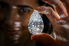The 'Absolute Perfection' diamond is the largest D color flawless diamond ever auctioned.  The  101.73 carat jewel sold for 26.7 million in May 2013.