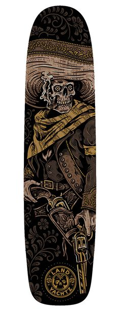 Landyachtz - Loco Longboard Series by Derrick Castle, via Behance