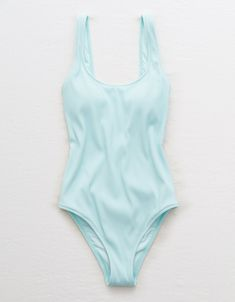 9d2d957af5 Aerie Ribbed Scoop One Piece Swimsuit
