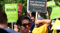 California rejects utility plans for rooftop solar
