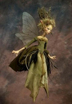 Wendy Froud faerie by Wendy Froud Faierie on thegroundmag.com
