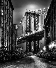 Photography New York, Urban Photography, Underwater Photography, Street Photography, Photography Poses, Photography Aesthetic, Travel Photography, Manhattan Bridge, Brooklyn Bridge