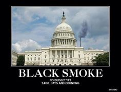 Black smoke yet again from the White House