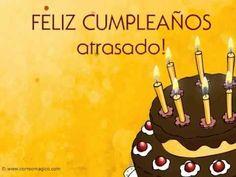 Feliz Cumpleaños atrasado. Felicidades Received from Frida Ferrari on June 27th, 2014