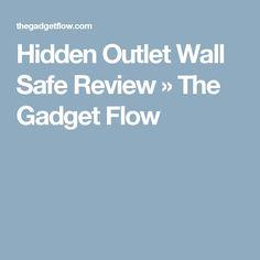 Hidden Outlet Wall Safe Review » The Gadget Flow