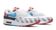 Parra x Nike Air Max 1  White Pure Platinum  AT3057-100 Release 0aff3b7c7