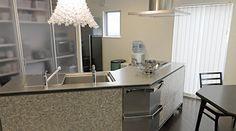 「INO」実例集 | キッチン[システムキッチン] | キッチンでライフスタイルをデザインする トーヨーキッチン
