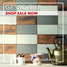 """Gesso Tile! This double-fired ceramic, with manual glazing intervention, will add a contemporary Urban flair to your design. Our wide selection of 4"""" X 8"""" Gesso tiles, available in 18 different color options, are on Sale Now for a limited time. Visit www.Materials-Marketing.com to pick yours out today! #ceramictiles #handcrafted #kitchendecor #kitchenrenovation #kitchendesign #kitchenremodel #kitcheninspiration #kitchenideas #kitcheninspo Kitchen Decor, Kitchen Design, Ceramic Subway Tile, Your Design, Kitchen Remodel, Manual, Tiles, Urban, Ceramics"""
