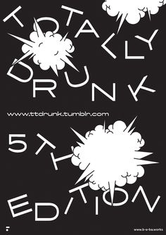Poster made for Totally drunk 5th Edition My Design f5a9d162c7d