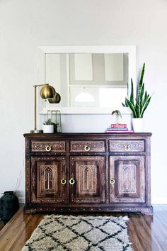 Before & After: A Modern-Bohemian Fixer-Upper in Southern California